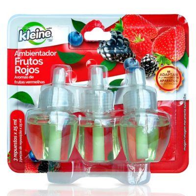 Ambientador Repuesto Frutos Rojos 3x25ml