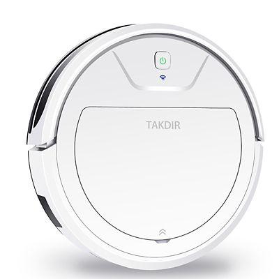 Aspiradora Trapeadora Robot - Blanco 1077