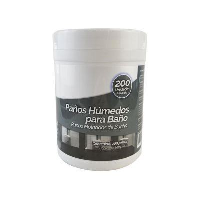 Paños Húmedos para Baño 200 Unidades