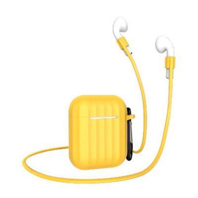 Estuche en Silicona Airpods Amarillo