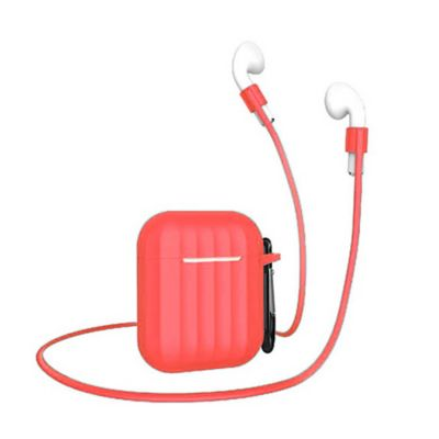 Estuche en Silicona Airpods Rojo