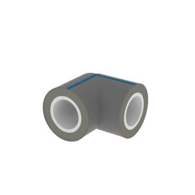 Codo 90G PVC Pre Aislado Pead+Uv Rde 21- 1/2 Pulgadas