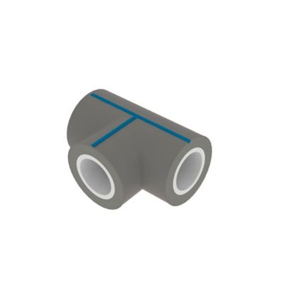 Tee H-H-H PVC Pre Aislada Pead+Uv Rde 21 -4 Pulgadas