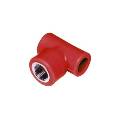 Tee H-H-H Pp-Rct Inserto Metalico 25mm X 1/2 Pulgadas