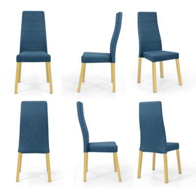Set x6 Sillas para Comedor Cairo 52x60 Azul