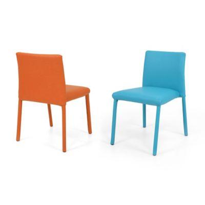 Set x2 Sillas Lugo Kids 34x36 Naranja Azul