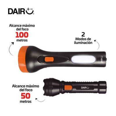 Kit x2 Linternas Recargables Alcance: 100mt/50mt