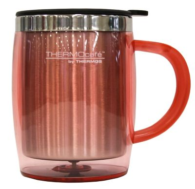 Mug 350ml Desktop Interior Acero Rosado