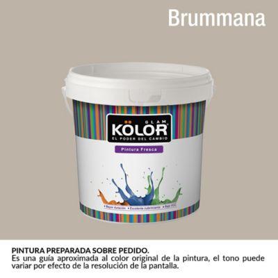Pintura para interior Gris Claro Brummana Deluxe Mate 1 Galón