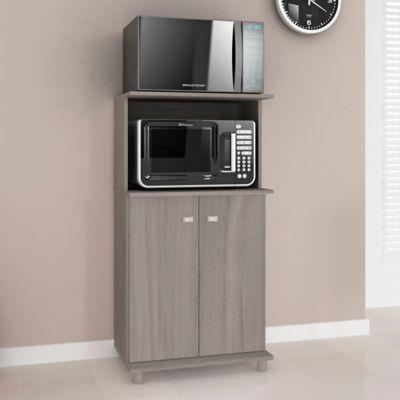 Mueble Auxiliar Cocina Almeria Roble Humo 116x61x39 cm