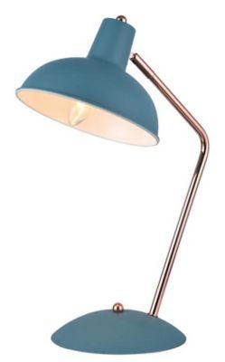 Lámpara de Mesa Bruno Turquesa A60