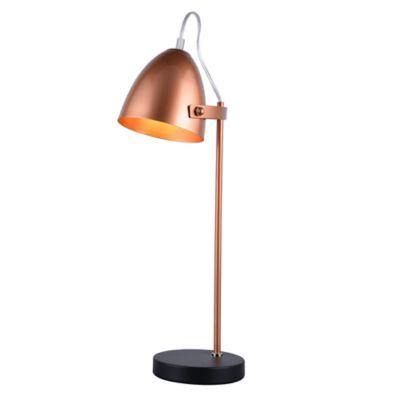 Lámpara de Mesa Albert Oro Rose A60