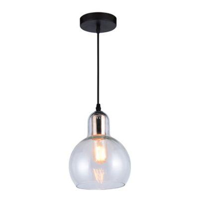Lámpara Colgante Atenas Claro/Cobre A60