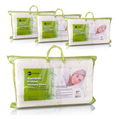 Set x 4 Almohadas Ortopédicas Protector Bamboo