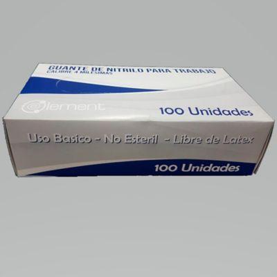 Kit Proteccion 100 Mascaras para Polvo + 100 Guantes de Nitrilo de Uso Basico