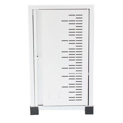 Locker Hospitalario 1 Puesto Apilable 50x31x30cm Blanco