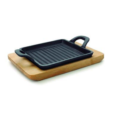 Mini Grill Cuadrado 195x14x17 /Magma