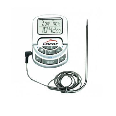Termómetro Digital con Cable/Sonda Horno