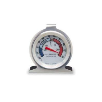 Termómetro Análogo Acero Inoxidable/Base Refrigerado