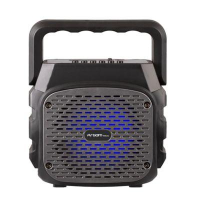 Parlante Inalámbrico BT Luces LED+Microfono-3010BK Negro