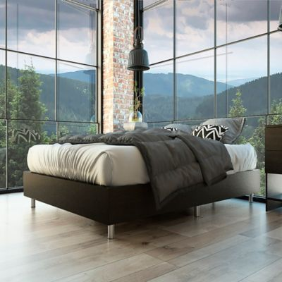 Base Cama Lumo Doble 140x190x23 Wengue