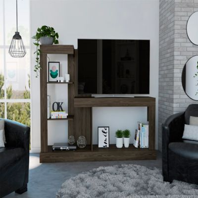 Mesa para TV de Hasta 55 Pulgadas Minotti 133.7x180x41.5 Coñac