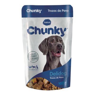 Chunky Deli Dog Trozos De Pavo 100Gr