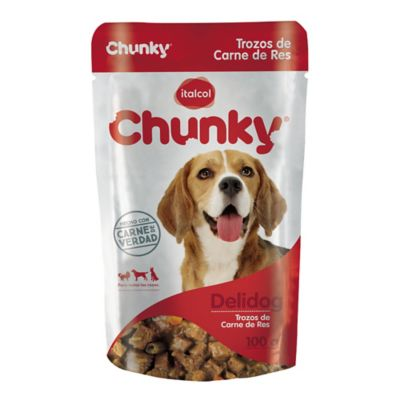 Chunky Deli Dog Trozos De Carne De Res 100Gr