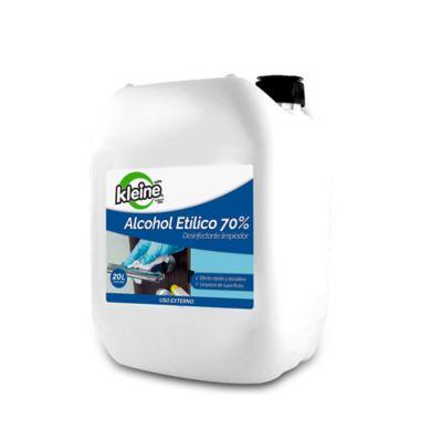 Alcohol Etílico Desinfectante Limpiador x20 Litros