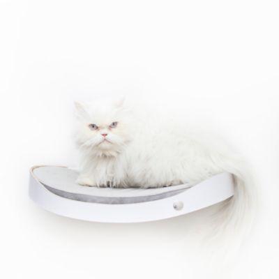 Repisa Flotante para Gatos Repimodo Blanco - Gris Claro