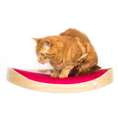 Repisa Flotante para Gatos Repimodo Perillo - Rojo