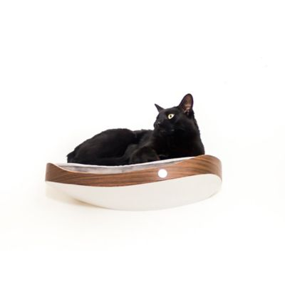 Repisa Flotante para Gatos Repimodo Wengue - Gris Claro