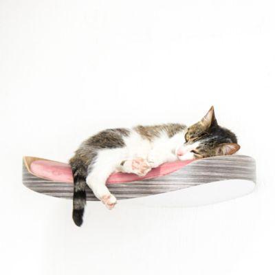 Repisa Flotante para Gatos Repimodo Gris Cenizo - Rosado