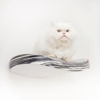 Repisa Flotante para Gatos Repimodo Nápoles - Gris Claro