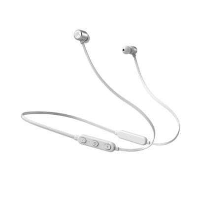Audífonos Cuello Ultimate Sound XBT Cable Plano Flexible Blanco