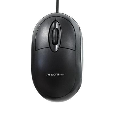 Mouse Clásico con Conector USB MS-0002  Negro