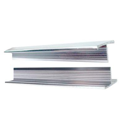 Perfil aluminio lístelo 1 cm ancho oro 2,5 metros largo