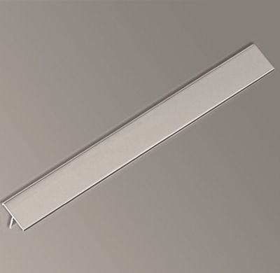Perfil aluminio listelo 20 mm plata 2.5 m