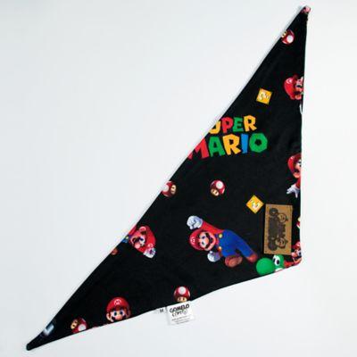 Pañoleta Súper Mario Talla XL Negro