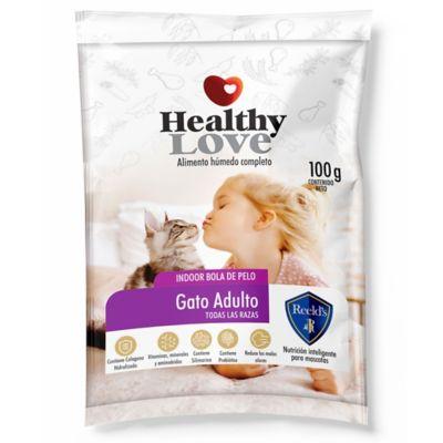 Alimento Húmedo Healthy Love Gato Adulto 100Gr Paq x10
