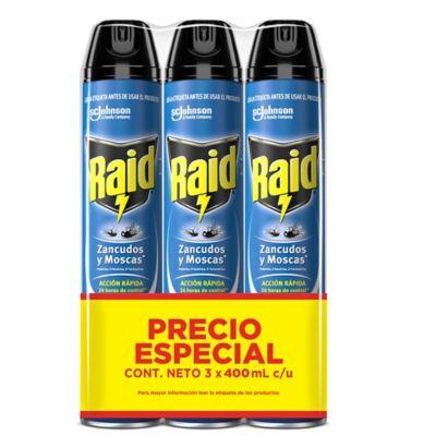 Insecticida Elimina Voladores 400 ml Pack x 3 / 6 x 6