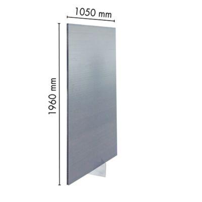 Panel Divisorio 16mm Gris 1.05m X 1.96m Ark