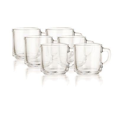 Set x6 Mugs Cafeteros 317ml/10.7Oz