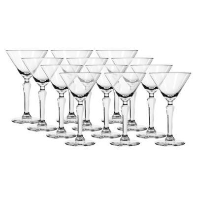 Set x12 Copas Vintage Spksy Martini 190ml/6.5Oz