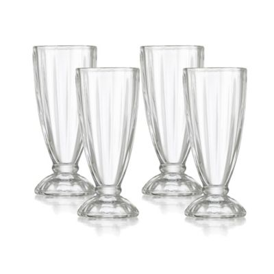 Set x4 Vasos para Malteada Tara 355ml/12Oz