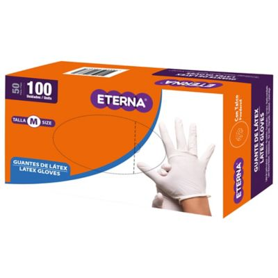 Guante Eterna Latex Talla M x100