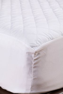 Protector de Colchón Quilted Impermeable 120x190x35 Hotel Experience Semidoble