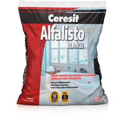 Ceresit Alfalisto Blanco 25kgx 60 Unds