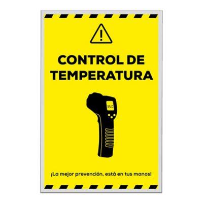 Señal Toma de Temperatura 40x60cm