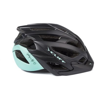 Casco Adventure Negro/Menta S